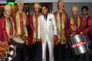 indian brass band